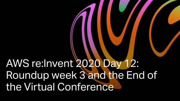 Reinvent day 12