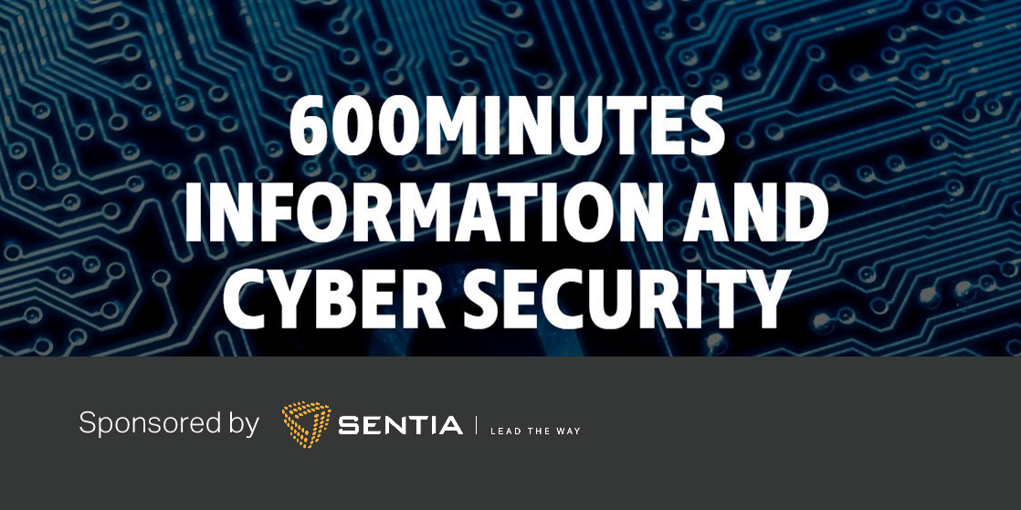 Mød os til 600minutes Information & Cyber security