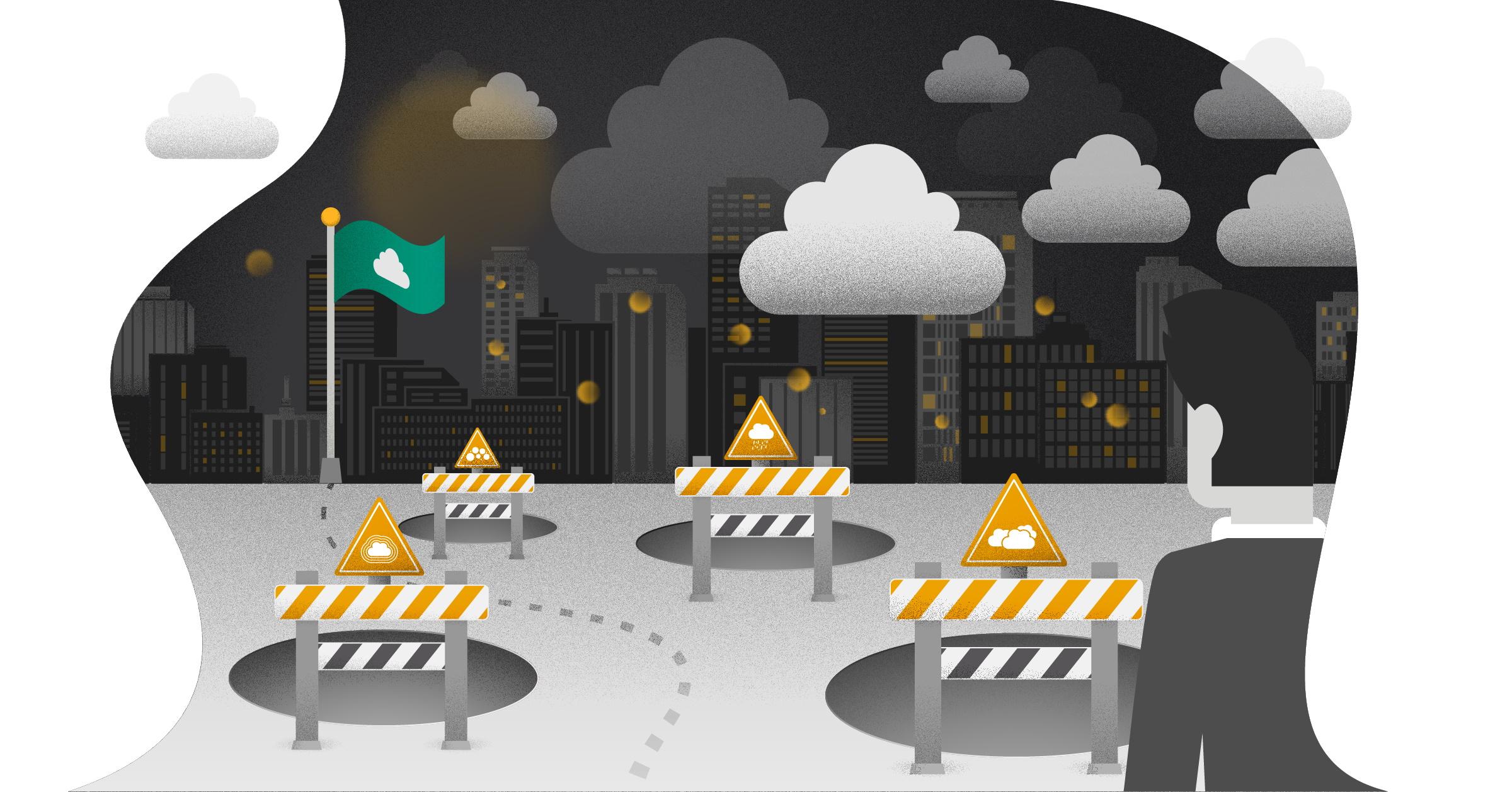 Fire cloud-adoption faldgruber du bør undgå
