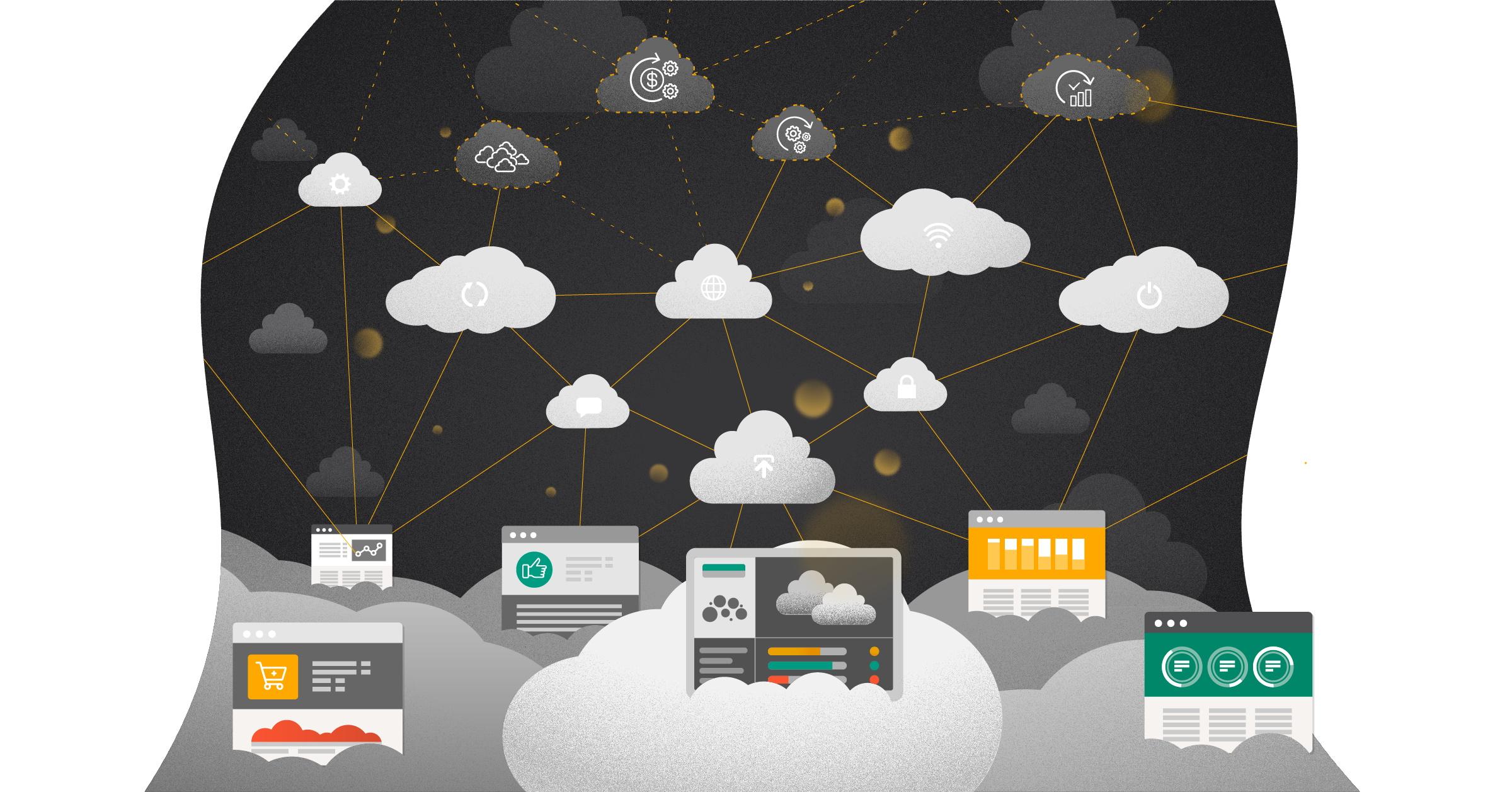 Den langsigtede cloud-arkitektur tilgang
