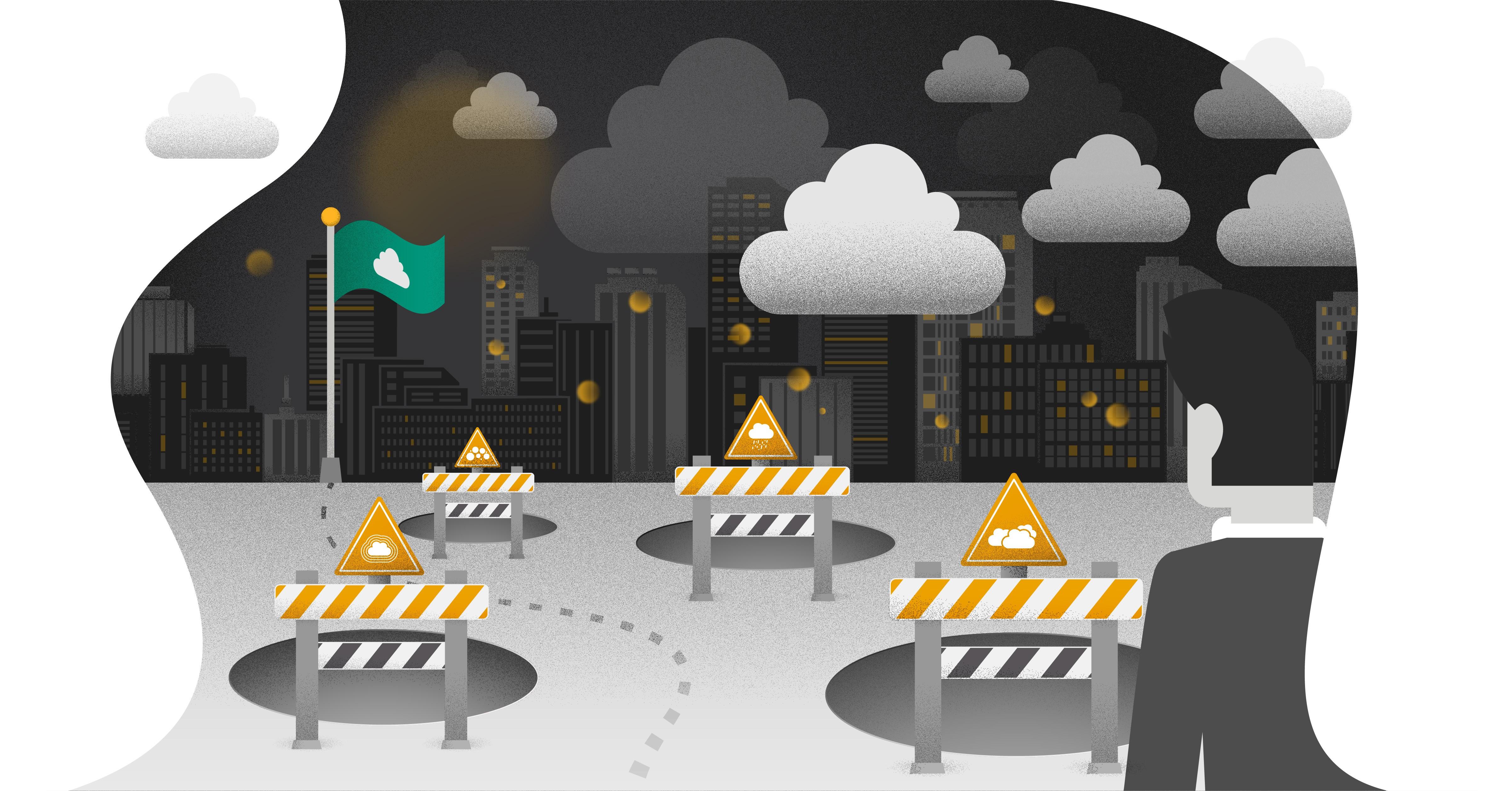 Vermijd de vier valkuilen voor cloudadoptie