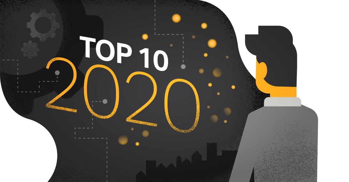Top 10 strategic IT-trends in 2020