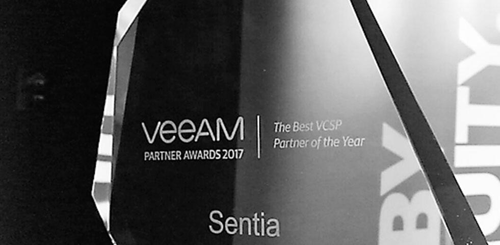 Sentia verkozen tot beste Belgische cloud & service provide