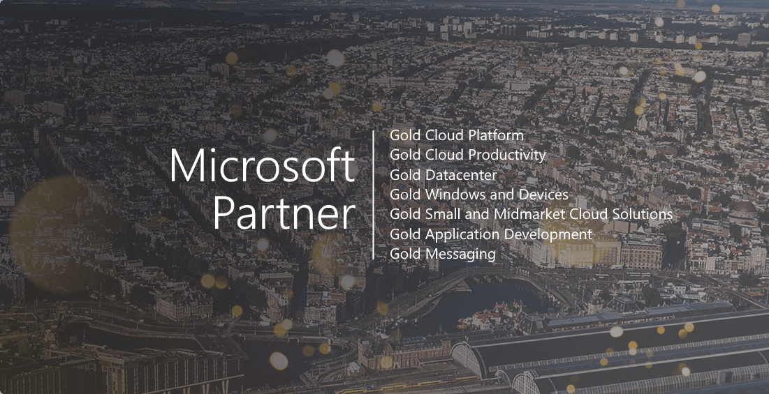 Gold Messaging Microsoft Competency Achieved